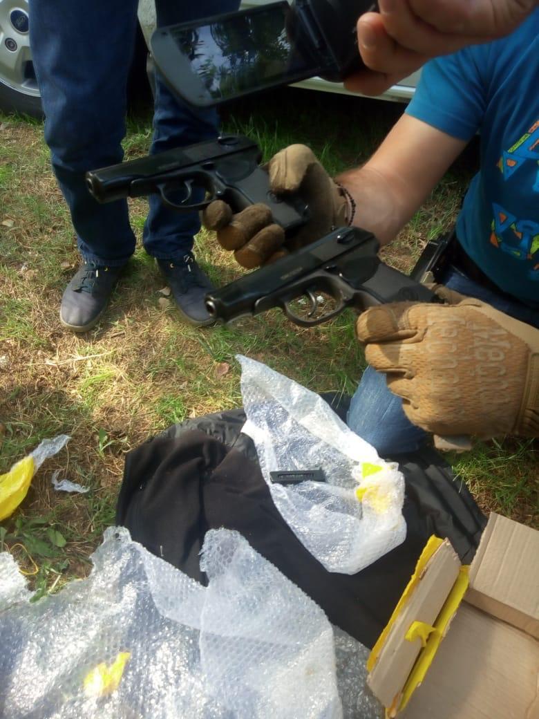 В Херсоні затримали чоловіка, якій купив вогнепальну зброю (ФОТО)
